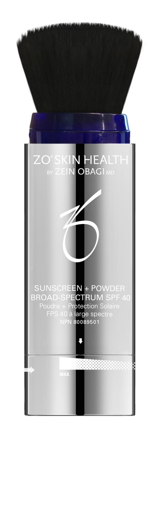 CAN Sunscreen + Powder Opened